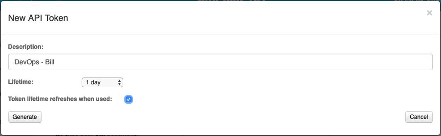 New Token UI image