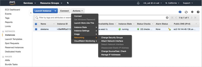 VNS3 Cloud Setup AWS disable src check 1