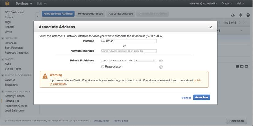 VNS3 Cloud Setup AWS EIP 2