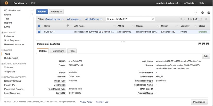 VNS3 Cloud Setup AWS Launch VNS3 1