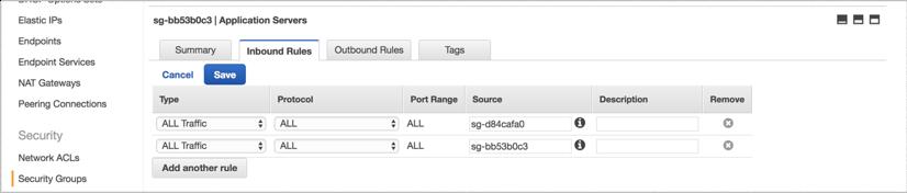 VNS3 Cloud Setup AWS Sec Grp 2