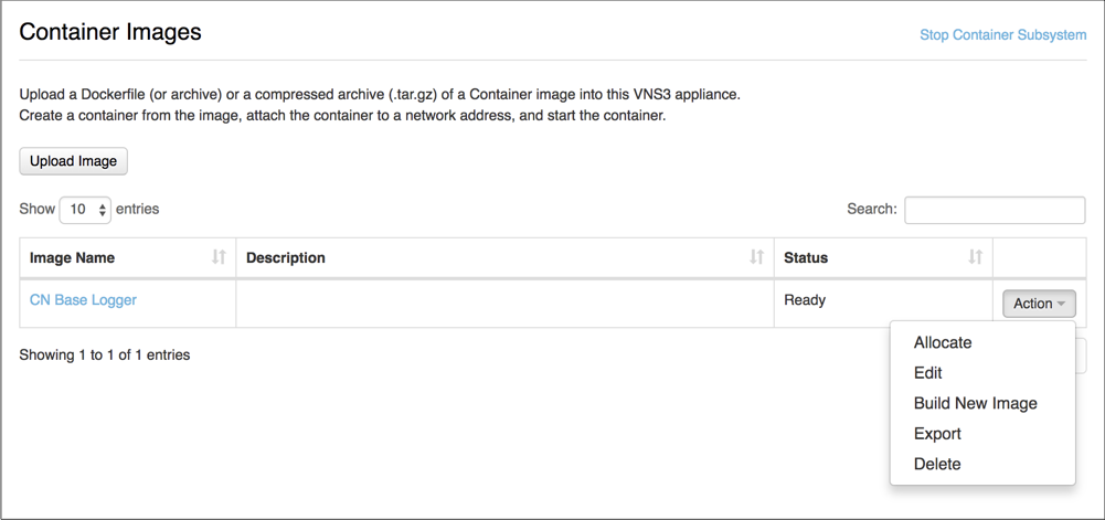 Getting the VNS3_Base Container