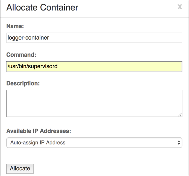 Launching a VNS3_Base Container