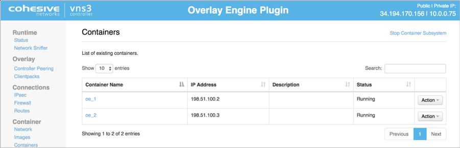 Confirming the BGP HA Plugin is running