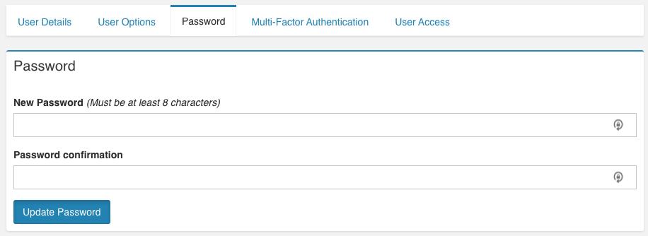VNS3ms Update Password