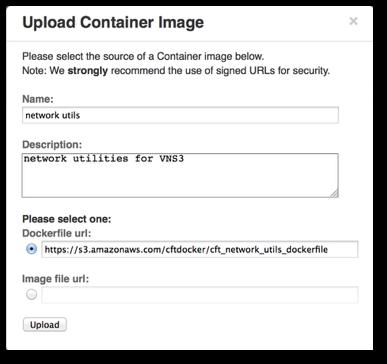 VNS3 Network Edge Plugins Dockerfile